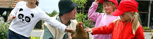 Occuper d'animaux au parc animalier sainte croix entre strasbourg nancy et metz.