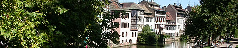 Alsace is one of the most beautiful regions in France, still to be discovered. Here La Petite France in Strasbourg.